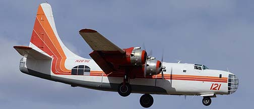 Consolidated P4Y-2 Privateer N2871G Tanker 121, Mesa Gateway Airport, March 9, 2012