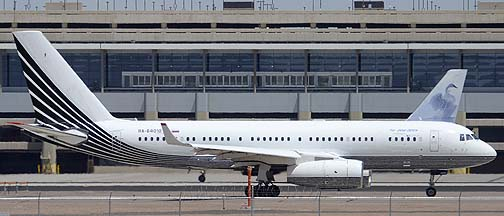 Business Aero Tupolev Tu-204-300A at Phoenix Sky Harbor, August 7, 2012