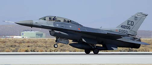General Dynamics F-16D Block 30E Fighting Falcon 86-0050 of the 412th Operations Group, Edwards Air Force Base, September 20, 2012
