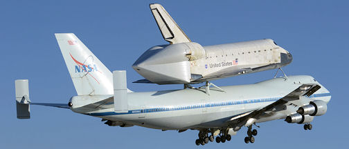 Space Shuttle Endeavour at Edwards AFB, September 21, 2012