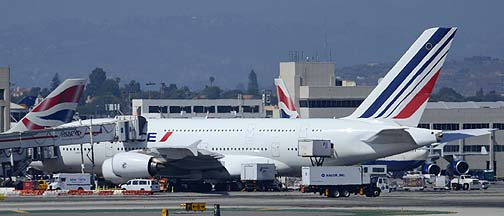 Air France Airbus A380-861 F-HPJF, August 20, 2013