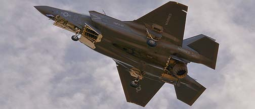 Lockheed-Martin F-35B Lightning II at Luke AFB, December 10, 2013