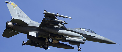General Dynamics F-16C Block 42A Fighting Falcon 87-0360, March 10, 2014