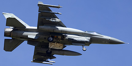 General Dynamics F-16C Block 42H Fighting Falcon 90-0730, March 10, 2014