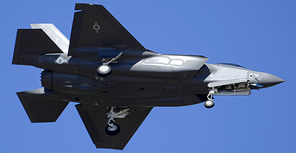 First Lockheed-Martin F-35A Lightning II delivered to Luke AFB, March 10, 2014