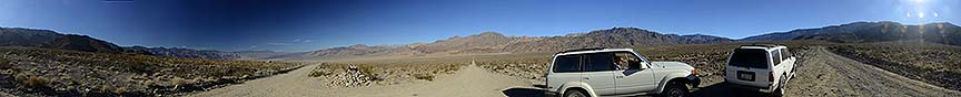 360-degree panorama of the Saline Valley, November 21, 2014