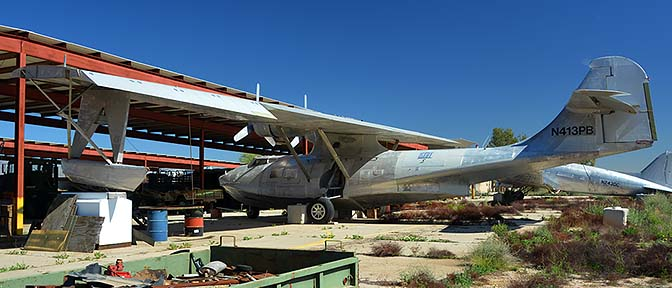 Canadian Vickers PBV-1A Canso (PBY-5A Catalina) N413PB, Lauridsen Collection, February 18, 2015