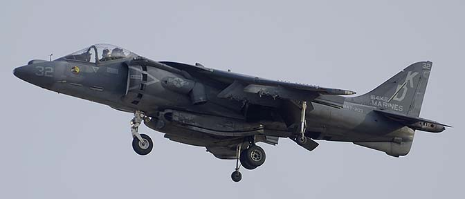 McDonnell-Douglas AV-8B Harrier BuNo 164146 modex 32 of VMAT-203, MCAS Yuma, February 18, 2015