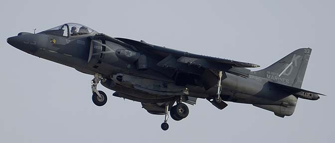 McDonnell-Douglas AV-8B Harrier BuNo 163872 modex 32 of VMAT-203, MCAS Yuma, February 18, 2015