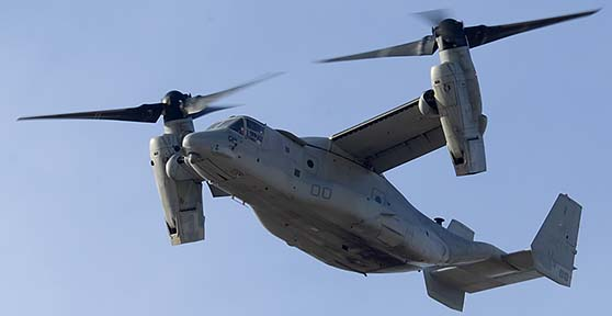 Bell-Boeing MV-22B Osprey BuNo 168214 modex 00 of VMX-22, MCAS Yuma, February 19, 2015
