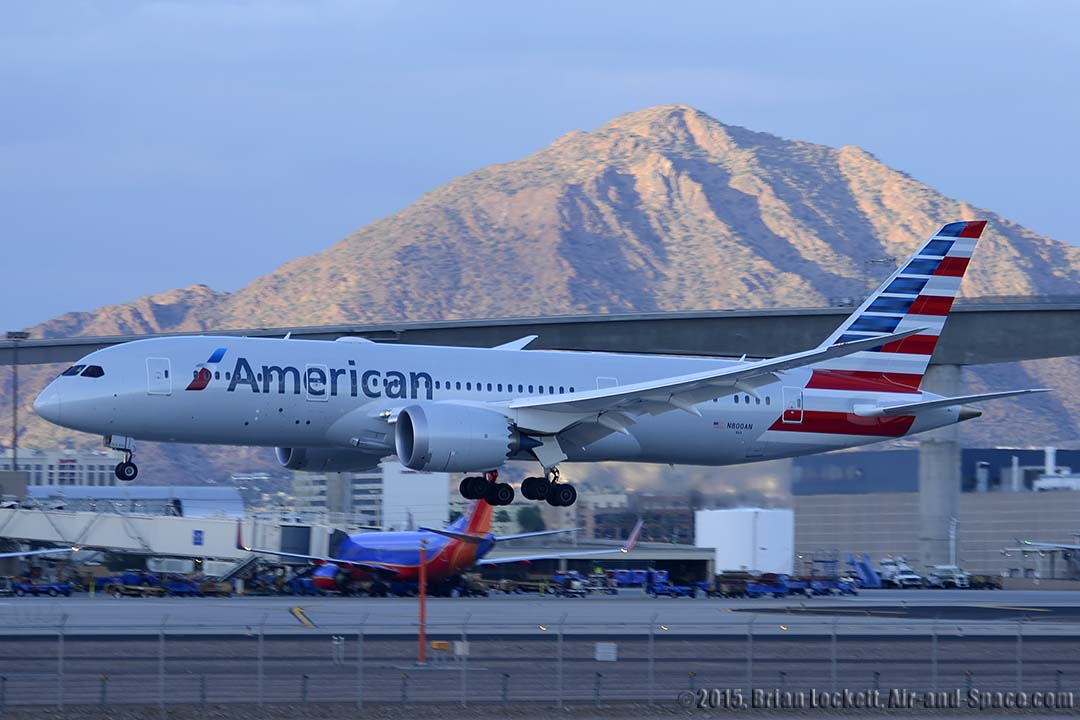 Air And Space Com American Airlines 787 At Phoenix Sky