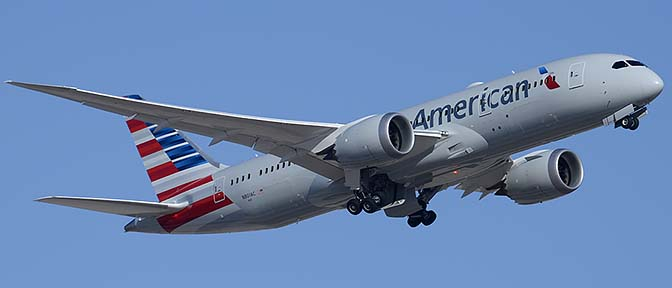 American Airlines Second 787 at Phoenix Sky Harbor, March 9, 2015