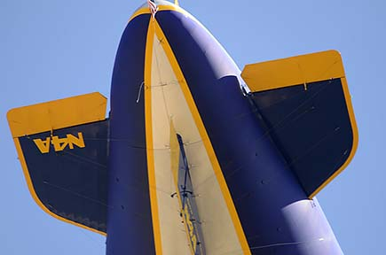 Goodyear Blimp N4A Spirit of Innovation, Goodyear, September 13, 2015