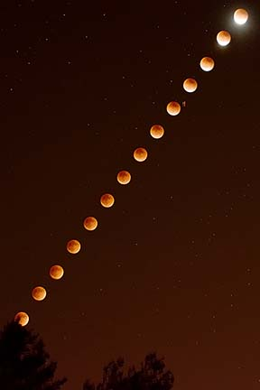 Total Lunar Eclipse, September 27, 2015