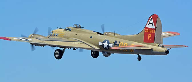 Boeing B-17G Flying Fortress N93012 Nine-O-Nine