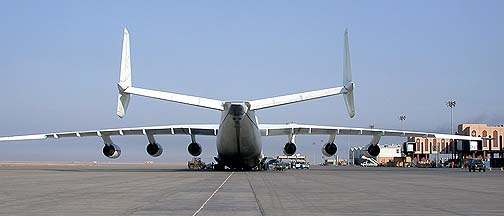Antonov An-225 Mriya at Basrah International Airport, September 2003