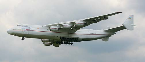 An-225 Mryia at Eindhoven, July 14, 2008