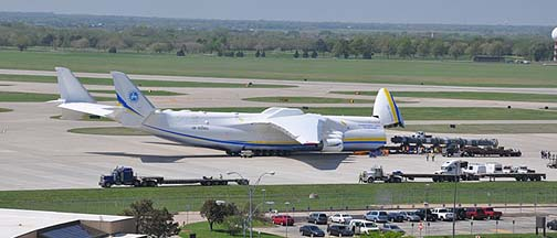 Antonov An-225 Mriya, Wichita Mid-Continent Airport, April 2, 2012