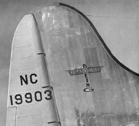 Pan Am Boeing 307 Clipper Flying Cloud, NC19903