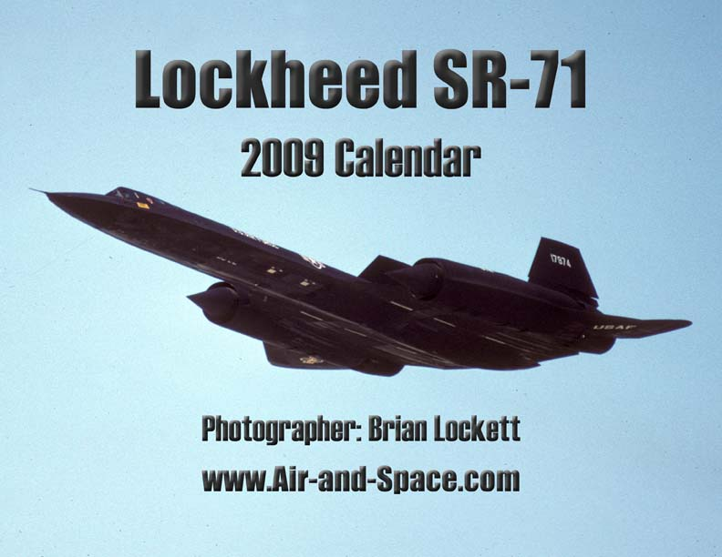 Lockett Books Calendar Catalog: Lockheed SR-71