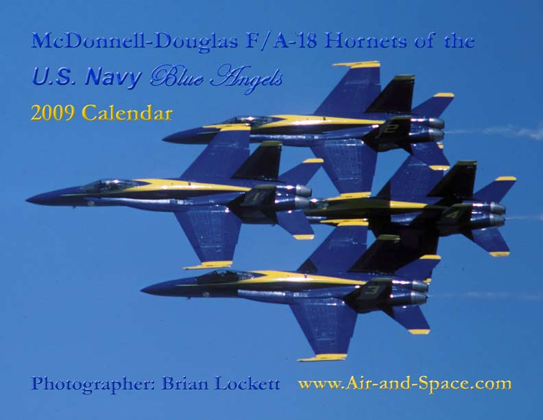 Lockett Books Calendar Catalog: McDonnell-Douglas F/A-18 Hornets of the U.S. Navy Blue Angels