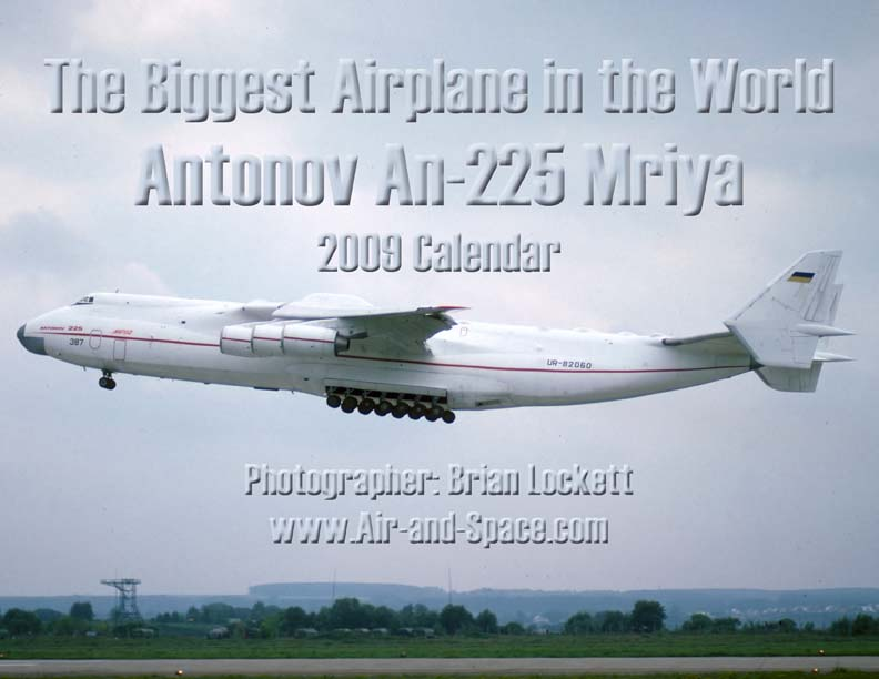 Lockett Books Calendar Catalog: Antonov An-225 Mriya