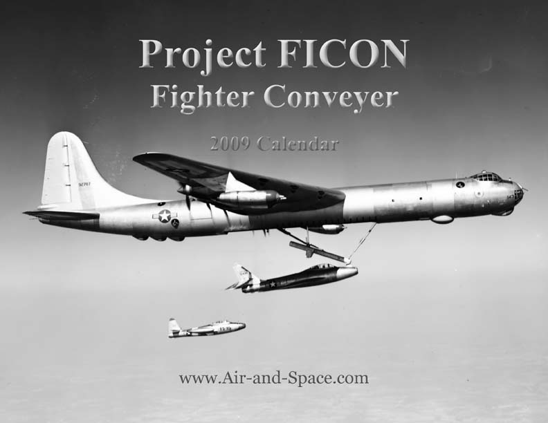 Lockett Books Calendar Catalog: Project FICON - Fighter Conveyer