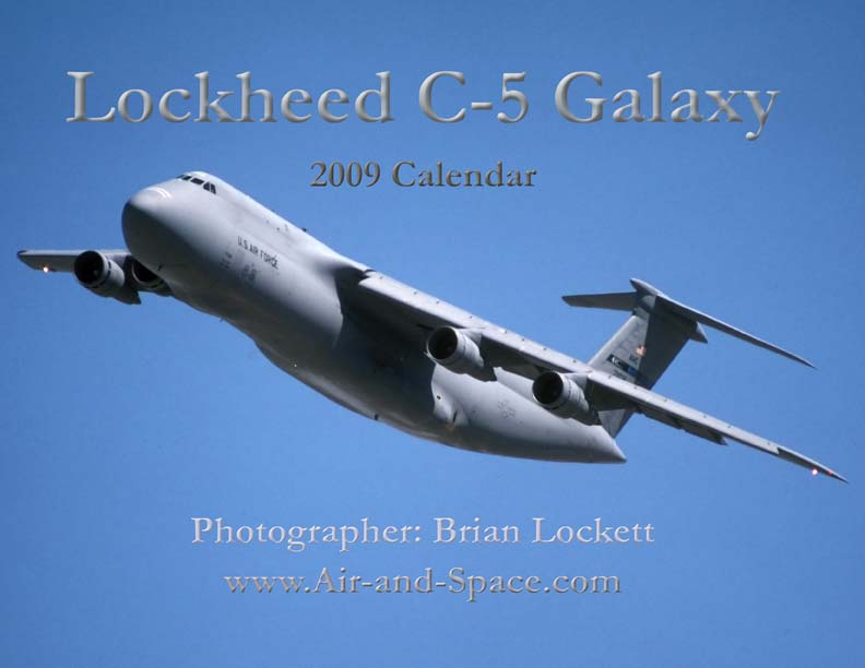 Lockett Books Calendar Catalog: Lockheed C-5 Galaxy
