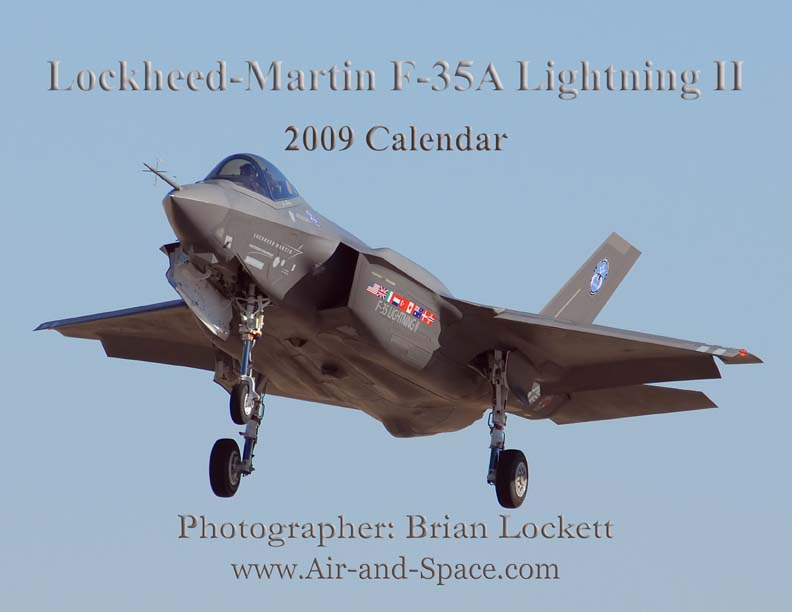 Lockett Books Calendar Catalog: Lockheed-Martin F-35A Lightning II