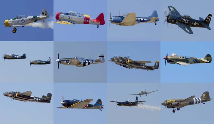 Lockett Books Calendar Catalog: Warbirds at Camarillo