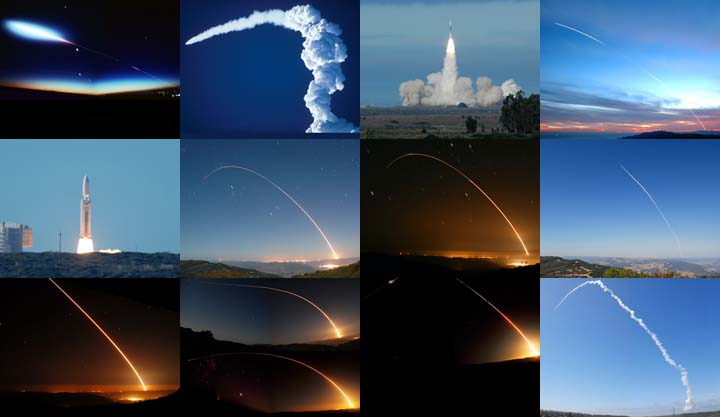 Lockett Books Calendar Catalog: Rocket Launches from Vandenberg Air Force Base
