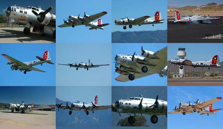 Lockett Books Calendar Catalog: Boeing B-17G Flying Fortress Aluminum Overcast