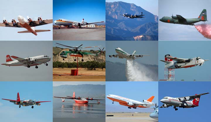 Lockett Books Calendar Catalog: Aerial Tankers