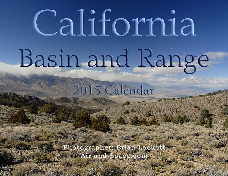 ... my photographs of the Basin and Range province in eastern California