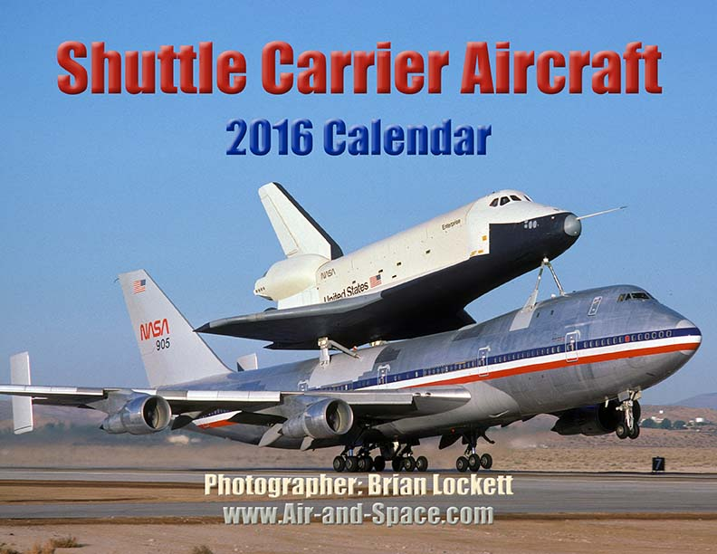 Lockett Books Calendar Catalog: Shuttle Carrier Aircraft