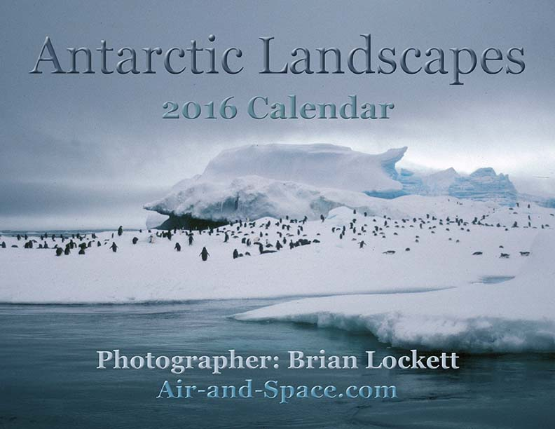 Lockett Books Calendar Catalog: Antarctic Landscapes