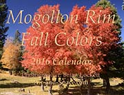 Mogollon Rim Fall Color: 2016 Calendar