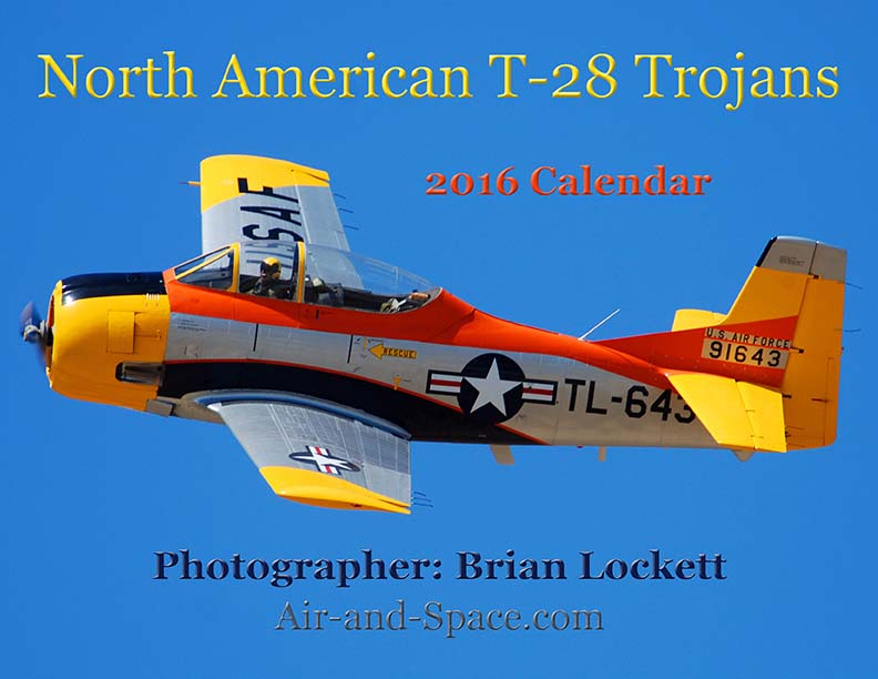 Lockett Books Calendar Catalog: North American T-28 Trojans