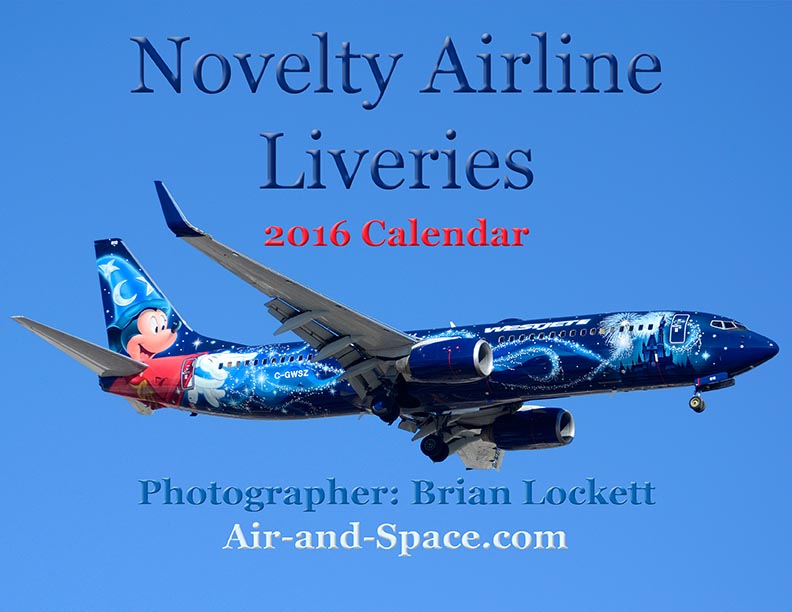 You can buy a 2016 calendar featuring my photographs of airliners ...