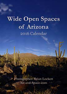 Wide Open Spaces of Arizona: 2016 Calendar