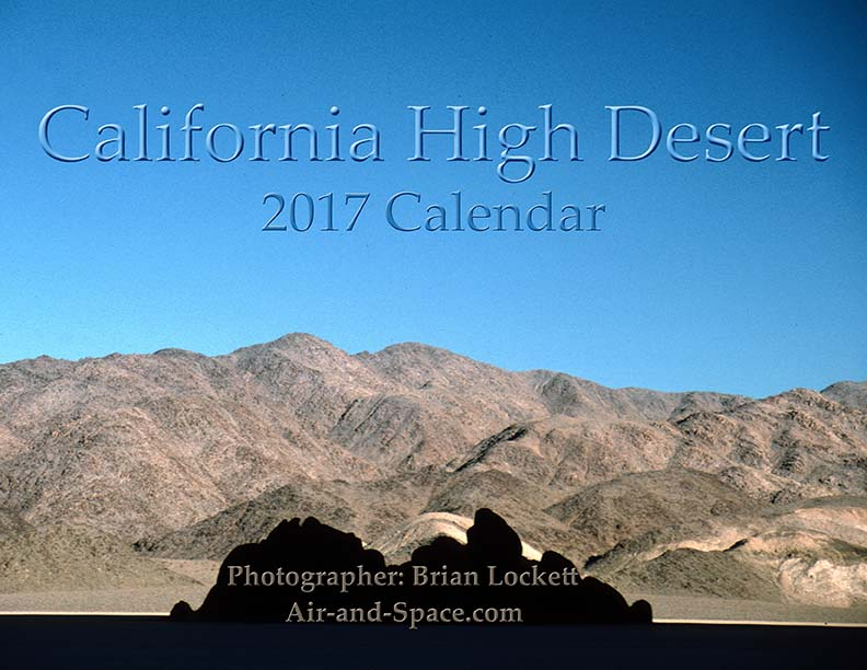 Lockett Books Calendar Catalog: California High Desert