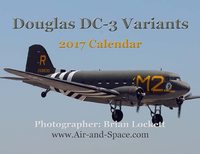 Lockett Books Calendar Catalog: Douglas DC-3 Variants