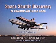 Space Shuttle Discovery at Edwards Air Force Base: 2017 Calendar