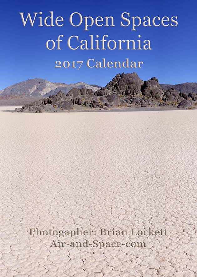 Lockett Books Calendar Catalog: Wide Open Spaces of California