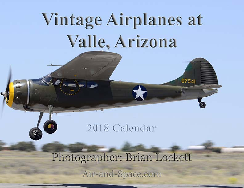 Lockett Books Calendar Catalog: Vintage Airplanes at Valle, Arizona