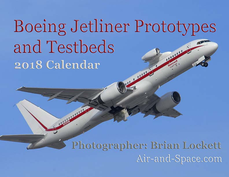 Lockett Books Calendar Catalog: Boeing Jetliner Prototypes and Testbeds