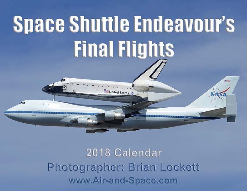 Lockett Books Calendar Catalog: Space Shuttle Endeavour's Final Flights