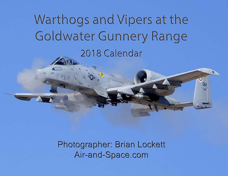 Lockett Books Calendar Catalog: Warthogs and Vipers at the Goldwater Range