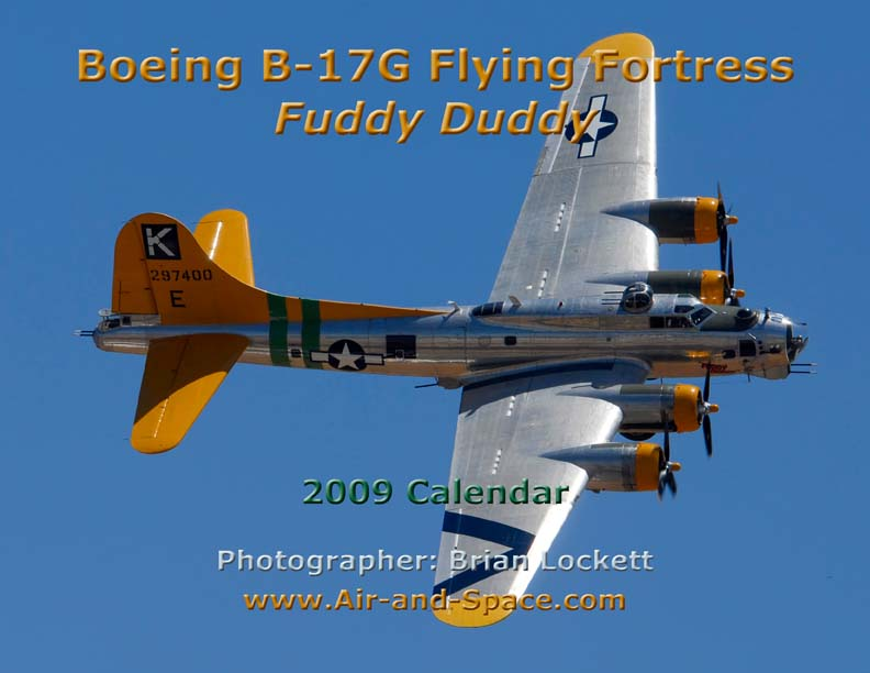 Lockett Books Calendar Catalog: Boeing B-17G Flying Fortress <em>Fuddy Duddy</em>
