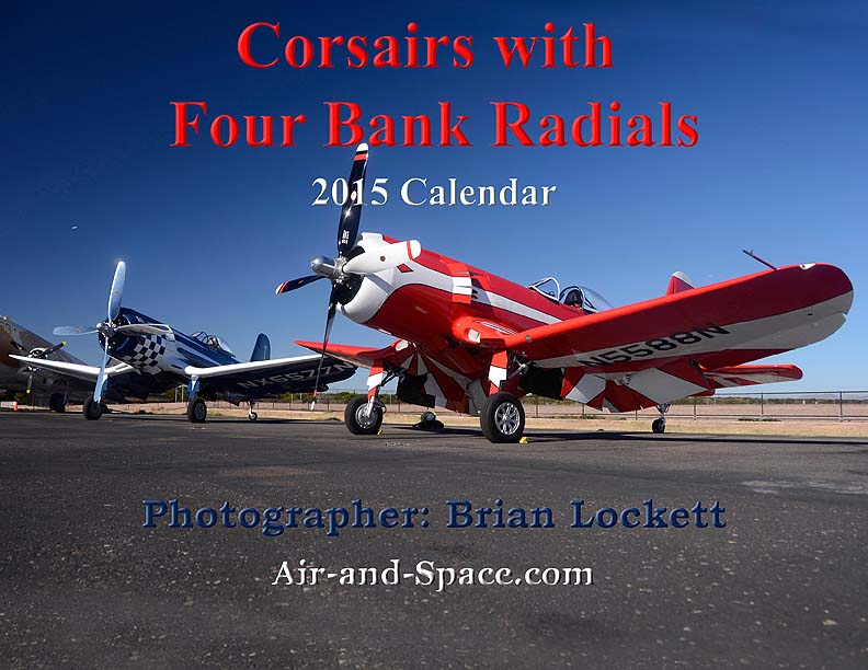 Lockett Books Calendar Catalog: Corsairs with Four Bank Radials